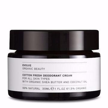 Evolve Cotton Fresh Deodorant Cream 30 ml